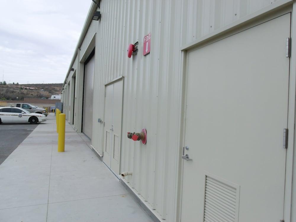 Gila County's Maintenance Facility