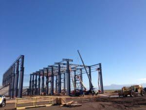 Metso Minerals Industries metal structure