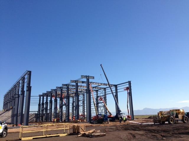 Metso crane metal construction