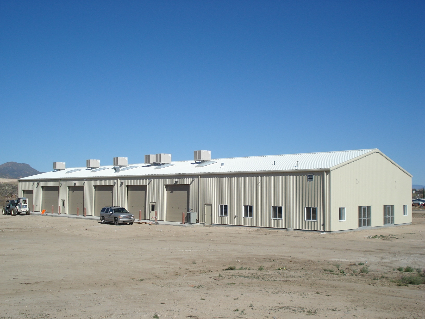 Gila County's Maintenance Facility