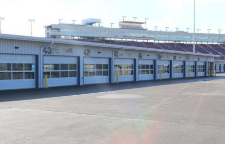 Phoenix International Raceway garages