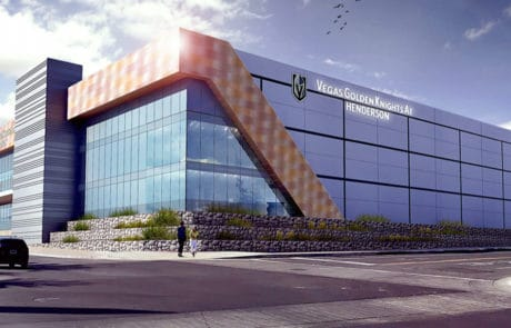 Vegas Knights Practice facility