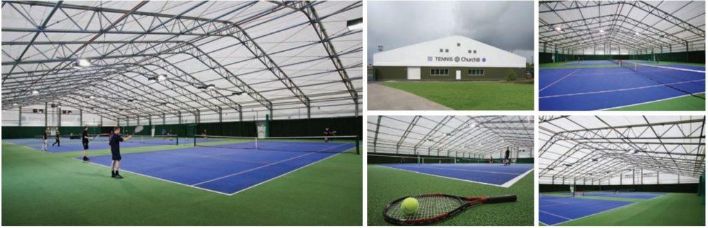 Tennis @ Churchill